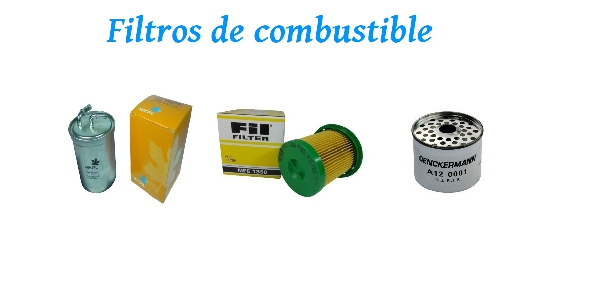 Filtros combustible